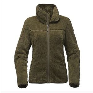 The North Face green Campshire Sherpa jacket
